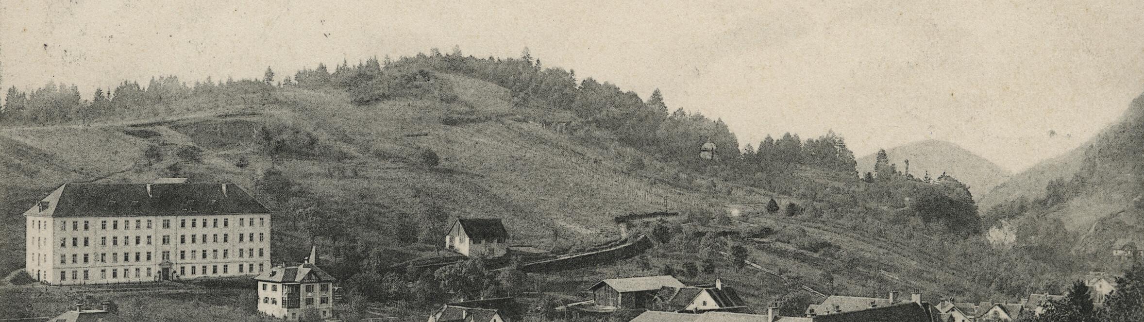 Antoniushaus der Kreuzschwestern in Feldkirch, Vorarlberg, historische Fotos