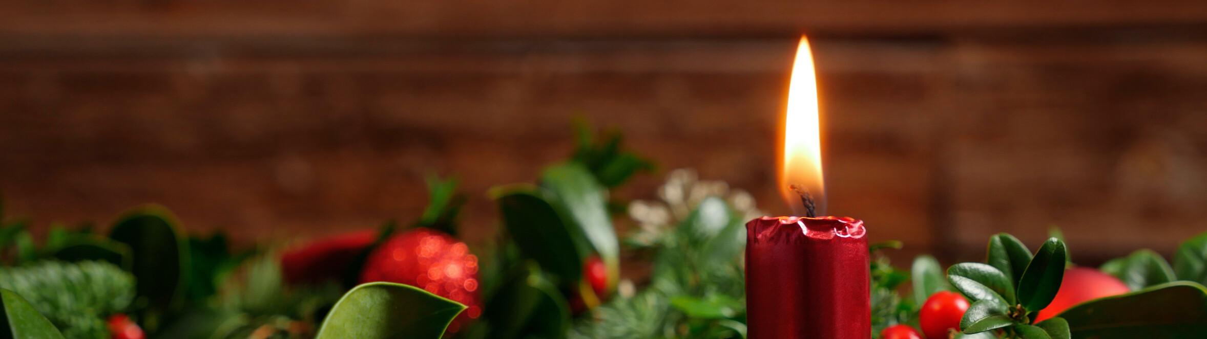 Weihnachten im Antoniushaus der Kreuzschwestern in Feldkirch, Vorarlberg