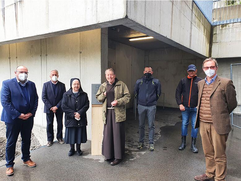 Werkstätte Antonius, Kreuzschwestern in Feldkirch, Antoniushaus, Baustelle, Bautätigkeit, Kapuziner